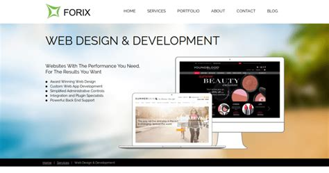 forix web design best web design firms