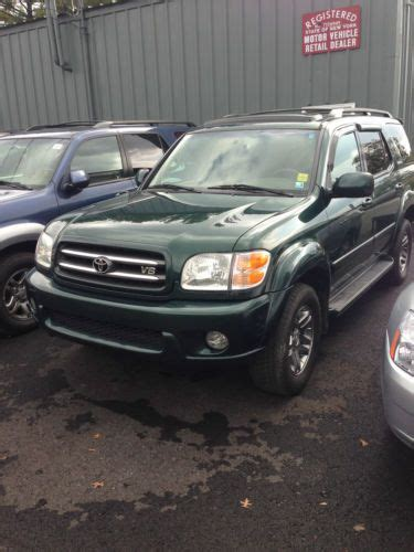 johnston toyota new hton ny find used 2003 toyota sequoia limited in johnson city new