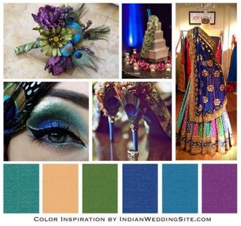 brautigams orchard indian wedding color inspiration peacock wedding