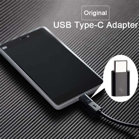 Usb Mi4c original xiaomi mi usb type c to micro usb adapter