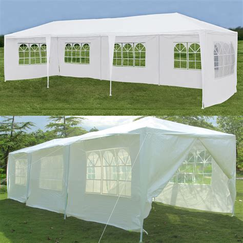 backyard tent party 10 x30 party wedding tent outdoor canopy heavy duty gazebo pavilion cater event ebay