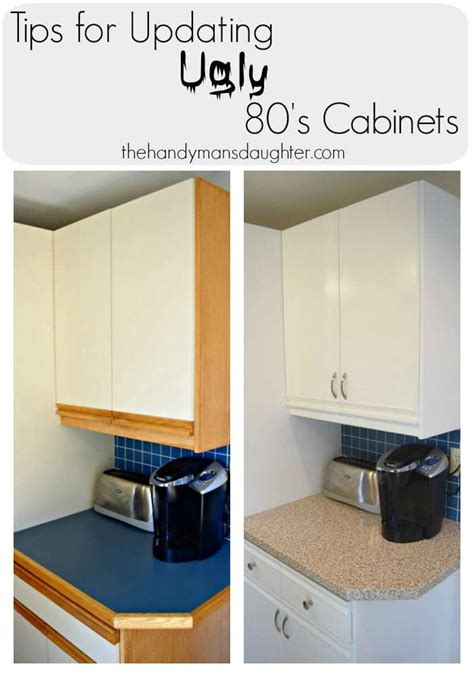 update white kitchen cabinets tips for updating 80 s kitchen cabinets the handyman s