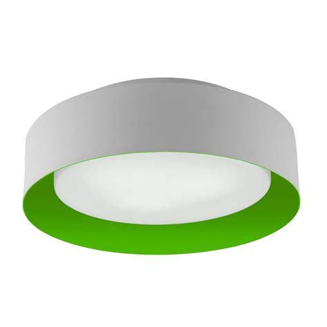 Green Ceiling Light Lynch White Green Flush Mount Ceiling Light Bromi Design
