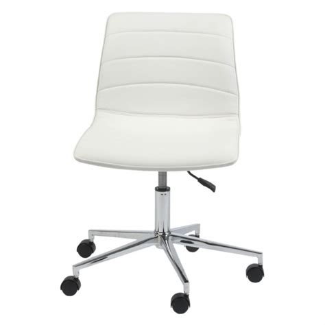 Armless Chair Design Ideas Modway Ripple Mid Back White Armless Office Chair Colors Photo 53 Chair Design