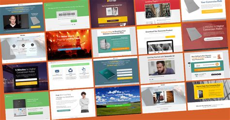 get a conversion boost with our best landing page template