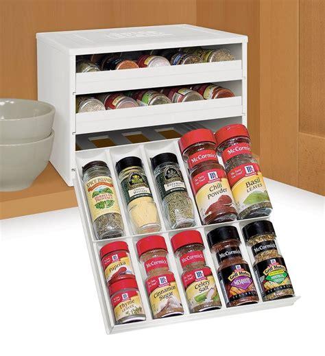 especiero organizador de cajones organizador de condimentos especiero capacidad 30 envases