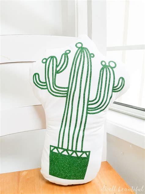 adorable diy cactus pillow dwell beautiful