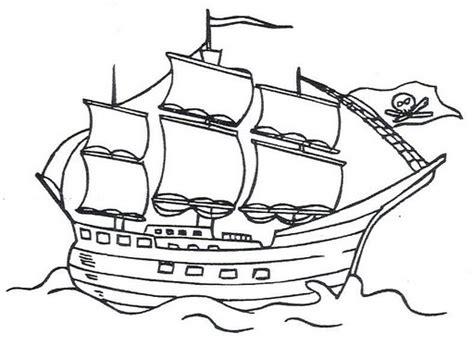 dibujo barco imprimir barco pirata para dibujar imagui