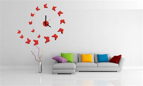 home interior wall design wall clocks in home decor interior design