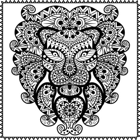 coloring pages abstract animals 9 abstract coloring pages free premium templates