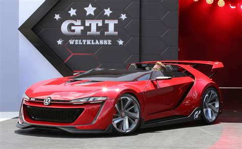 volkswagen gti sports car vw bringing golf r 400 and gti roadster concepts to l a