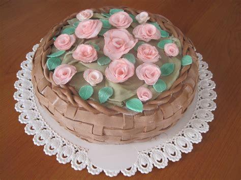 torte decorate fiori fiori in pasta di zucchero ilariainterplanetaria