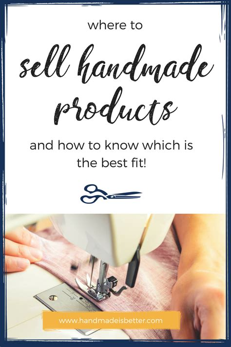 I Want To Sell My Handmade Items - where to sell your handmade products and how to