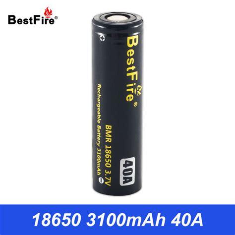 Baterei New Basen 18650 3100mah 40 A 18650 li ion battery bestfire rechargeable 3 7v batteries for flashlight vape box mod lithium