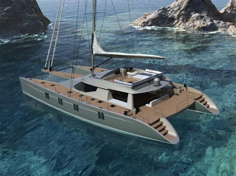 catamaran easy boat alu marine introduces the sailing catamaran havana 72