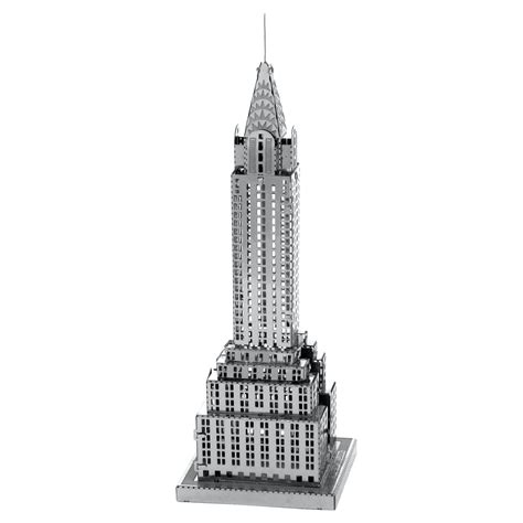 picture of the chrysler building innovatoys metal earth chrysler building 3d diy