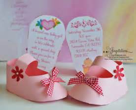 3d invitations unique baby shoe invites for baby shower jingvitations