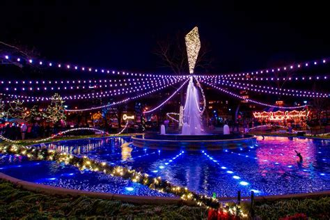 christmas light display in pennsylvania franklin square festival electrical spectacle a light show 2016 in