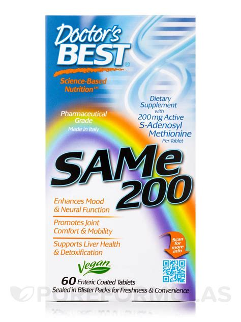 Sam E Liver Detox by Sam E 200 Mg 60 Tablets