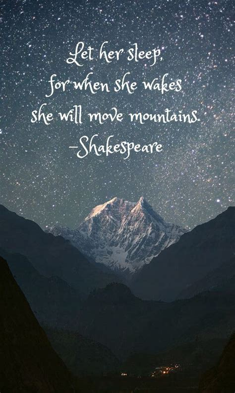 sleep quotes shakespeare william shakespeare quotes let her sleep for when she