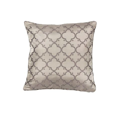 Taupe Decorative Pillows by Kas Rugs Hudson Taupe Decorative Pillow Pill25020sq The