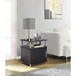 Black End Tables For Living Room Carson End Table Colors Walmart