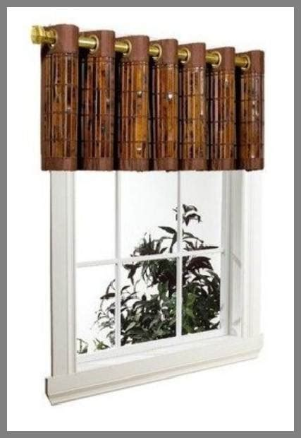 bamboo valance photo