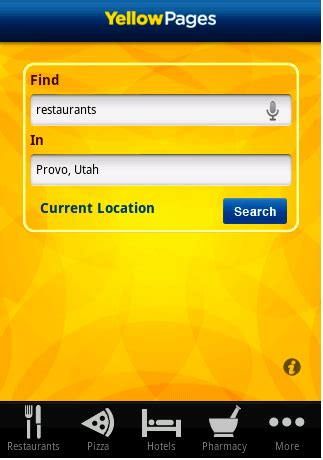 Find On Yellow Pages Android App Android Yellow Pages Android Central