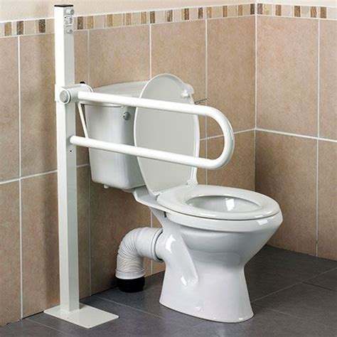 floor mounted grab bars for bathrooms floor mounted toilet safety rails installtoiletliftseat