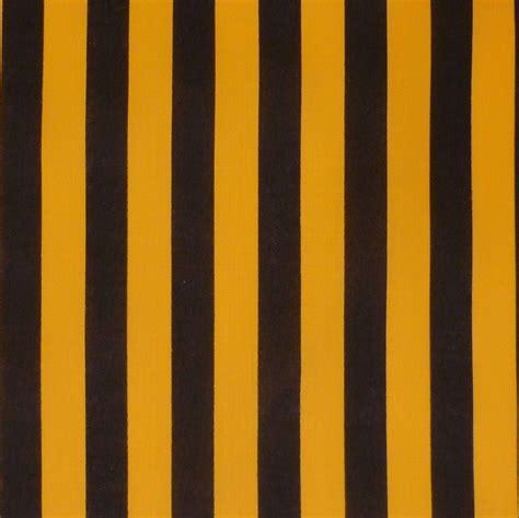 yellow brown black yellow bumble bee stripe cotton fabric new ebay