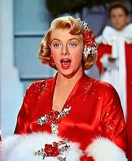 rosemary clooney white christmas red dress 40 best images about rosemary clooney on pinterest good