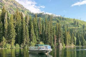 boat tour jackson lake jenny lake grand teton national park fishing cing