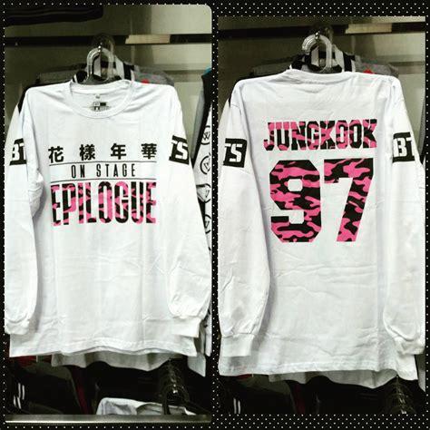 Baju Lengan Panjang Kaos Lengan Panjang jual tshirt kaos baju bts epilogue lengan panjang sm k pop shop