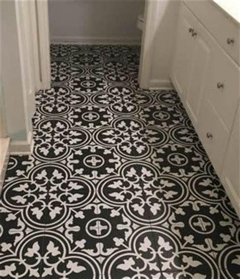 Black and White Floor Tiles Sydney Australia kitchen