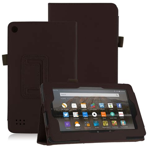 Casing Tablet 7 Inci folio thin leather cover for new 7 7 quot tablet 5th 2015