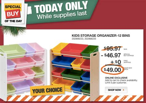 storage organizer bins 2 colors 49 and free