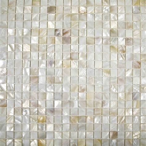 natural cream color Chinese freshwater shell mosaic tiles