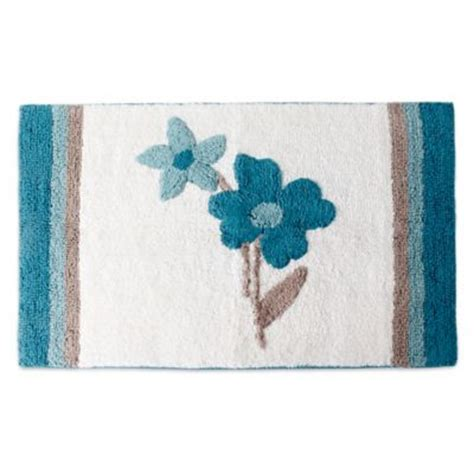 Teal Bathroom Rugs by Buy Blue And Teal Rug From Bed Bath Beyond