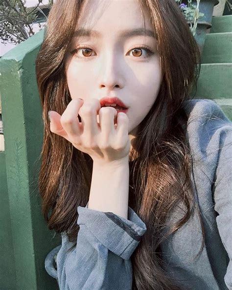 imagenes coreanas de chicas knhs2의 instagram media asian face style