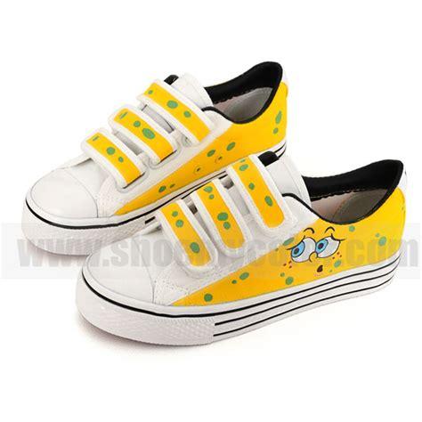 spongebob painted shoes spongebob squarepants
