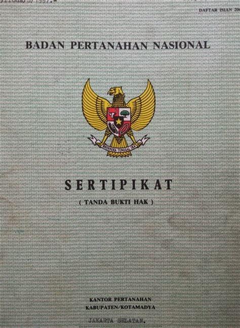 surat ijin legalitas bangunan dan properti ilmu tukang