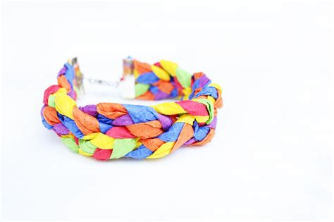 Crepe Paper Crafts For - design for crepe paper bracelets babble dabble do