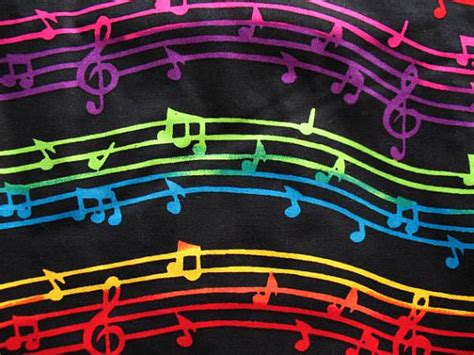 Music Themed Quilting Fabric | 6 yards cotton fabric quilting music theme musical notes