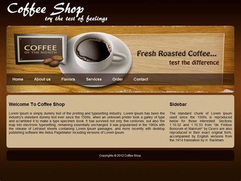 Free Website Template For Coffee Shop Download Free Apps Bloggingturbabit Coffee Shop Website Template Free
