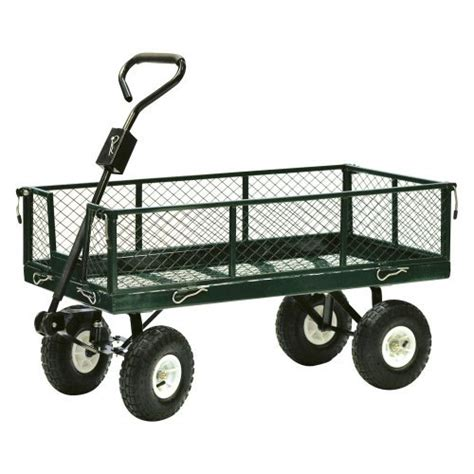 Gardening Cart by Precision Products 600 Lb Drop Side Nursery Cart Walmart