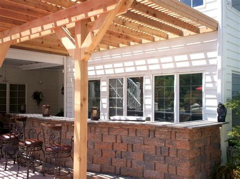do pergolas provide shade building an arbor over a patio 187 woodworktips