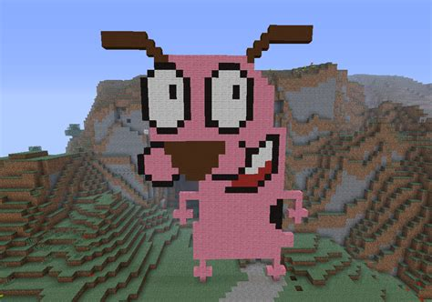 minecraft dogs minecraft courage the cowardly by jennybean4u on deviantart