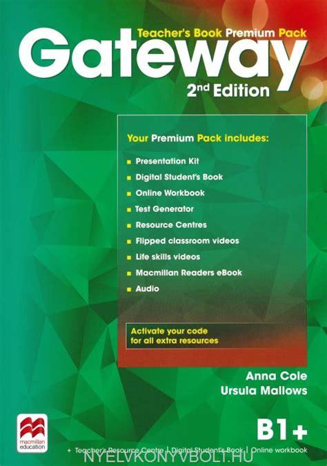 gateway 2nd edition b1 gateway 2nd edition b1 teacher s book pack nyelvk 246 nyv forgalmaz 225 s nyelvk 246 nyvbolt