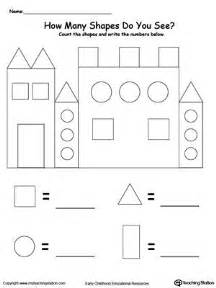 25 best ideas about shapes worksheets on pinterest