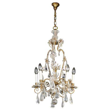 Bagues 19thc Antique Quot Louis Xv Quot Syle Rock Crystal Antique Looking Chandeliers